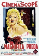 River of No Return - Italian Theatrical poster (xs thumbnail)