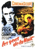 Night People - French Movie Poster (xs thumbnail)
