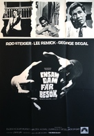 No Way to Treat a Lady - Swedish Movie Poster (xs thumbnail)