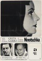 Ninotchka - German Re-release movie poster (xs thumbnail)
