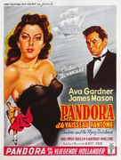 Pandora and the Flying Dutchman - Belgian Movie Poster (xs thumbnail)