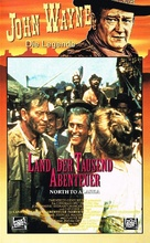 North to Alaska - German VHS movie cover (xs thumbnail)