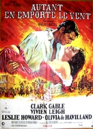 Gone with the Wind - French Movie Poster (xs thumbnail)