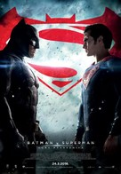 Batman v Superman: Dawn of Justice - Croatian Movie Poster (xs thumbnail)