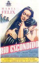 Río Escondido - Spanish Movie Poster (xs thumbnail)