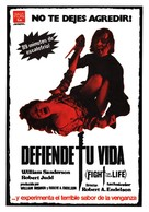 Fight for Your Life - Spanish Movie Poster (xs thumbnail)