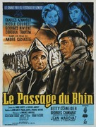 Passage du Rhin, Le - French Movie Poster (xs thumbnail)