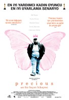 Precious: Based on the Novel Push by Sapphire - Turkish Movie Poster (xs thumbnail)