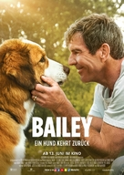 A Dog's Journey - German Movie Poster (xs thumbnail)