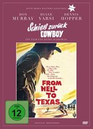 From Hell to Texas - German DVD cover (xs thumbnail)