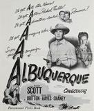 Albuquerque - poster (xs thumbnail)