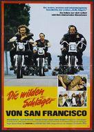 Hells Angels on Wheels - German Movie Poster (xs thumbnail)