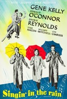 Singin' in the Rain - Swedish Movie Poster (xs thumbnail)