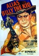 Alias Billy the Kid - Movie Poster (xs thumbnail)