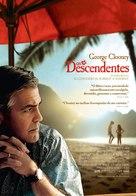 The Descendants - Portuguese Movie Poster (xs thumbnail)