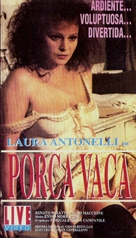 Porca vacca - Argentinian VHS movie cover (xs thumbnail)
