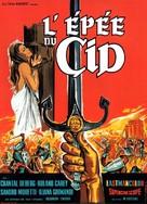 La spada del Cid - French Movie Poster (xs thumbnail)