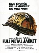 Full Metal Jacket - French Movie Poster (xs thumbnail)
