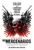The Expendables - Brazilian Movie Poster (xs thumbnail)