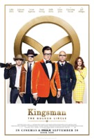 Kingsman: The Golden Circle - British Movie Poster (xs thumbnail)