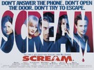 Scream - British Movie Poster (xs thumbnail)