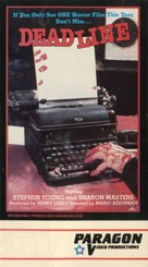 Deadline - VHS cover (xs thumbnail)