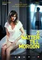 2 yötä aamuun - Swedish Movie Poster (xs thumbnail)