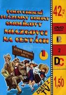 """""""Vakáción a Mézga-család"""" - Czech DVD cover (xs thumbnail)"""