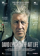 David Lynch The Art Life - Italian Movie Poster (xs thumbnail)
