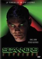 Scanner Cop II - French DVD movie cover (xs thumbnail)