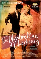 Les parapluies de Cherbourg - Swedish Re-release poster (xs thumbnail)