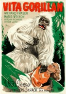 White Pongo - Swedish Movie Poster (xs thumbnail)