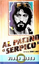 Serpico - Spanish VHS movie cover (xs thumbnail)