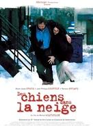 Des chiens dans la neige - French poster (xs thumbnail)