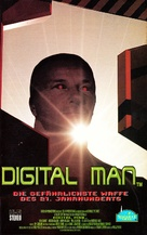 Digital Man - German VHS cover (xs thumbnail)