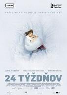 24 Wochen - Slovak Movie Poster (xs thumbnail)