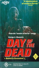 Day of the Dead - Australian VHS movie cover (xs thumbnail)
