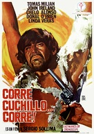 Corri uomo corri - Spanish Movie Poster (xs thumbnail)