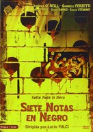 Sette note in nero - Spanish DVD cover (xs thumbnail)