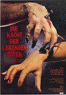 Night of the Living Dead - German Movie Poster (xs thumbnail)