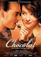 Chocolat - German Movie Poster (xs thumbnail)