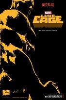 """Luke Cage"" - Brazilian Movie Poster (xs thumbnail)"