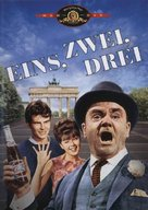 One, Two, Three - German DVD movie cover (xs thumbnail)