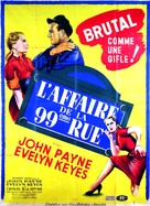 99 River Street - French Movie Poster (xs thumbnail)