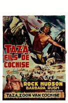 Taza, Son of Cochise - Belgian Movie Poster (xs thumbnail)