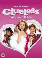 Clueless - British DVD cover (xs thumbnail)