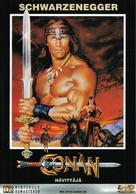 Conan The Destroyer - Finnish Movie Cover (xs thumbnail)