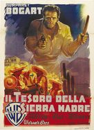 The Treasure of the Sierra Madre - Italian Movie Poster (xs thumbnail)