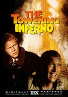 The Towering Inferno - DVD movie cover (xs thumbnail)
