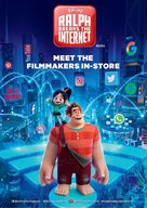 Ralph Breaks the Internet - Irish Movie Poster (xs thumbnail)